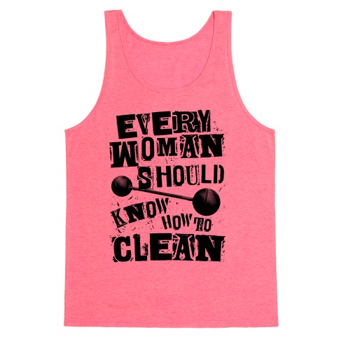 Every Woman Should Know How to Clean Tank Top
