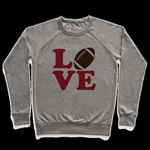 Love Football Pullover