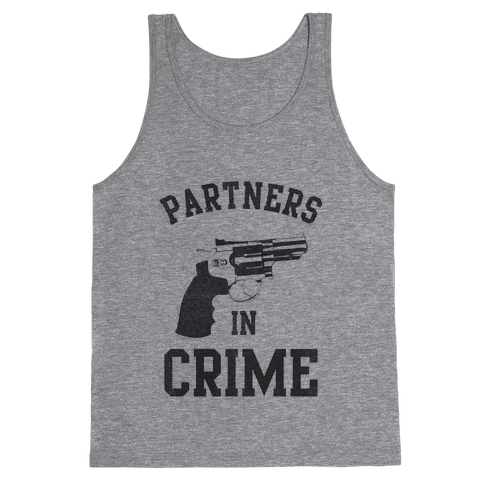 Partners in Crime Vintage (Left) Tank Top