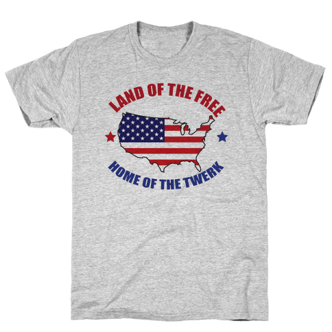 Home of the Twerk Mens T-Shirt