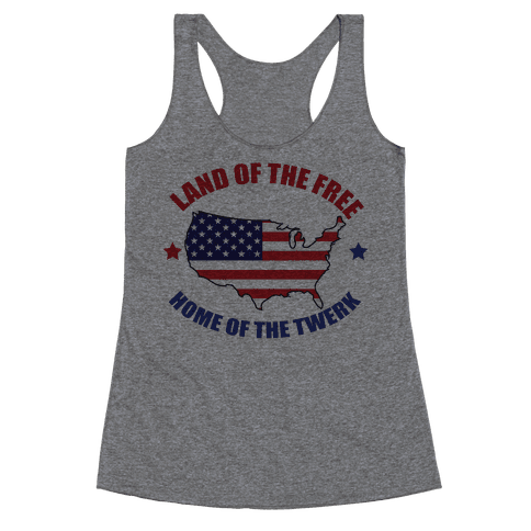 Home of the Twerk Racerback Tank Top
