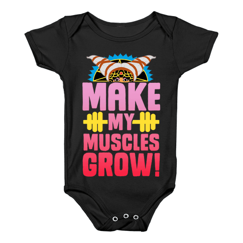 Make My Muscles Grow! Baby Onesy