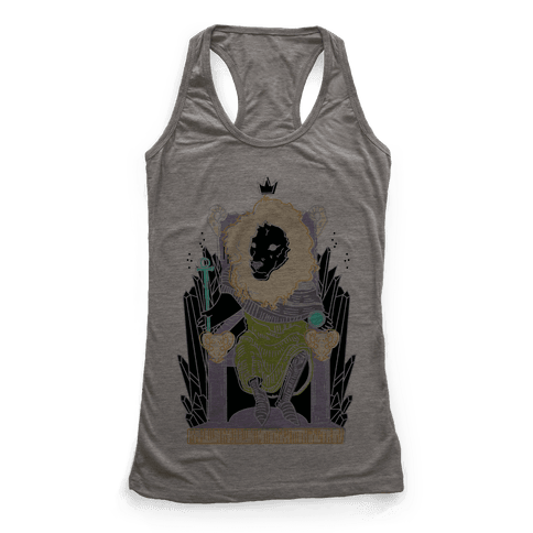 The Emperor Lion Racerback Tank Top