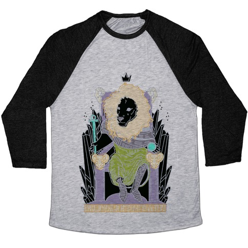 The Emperor Lion Baseball Tee