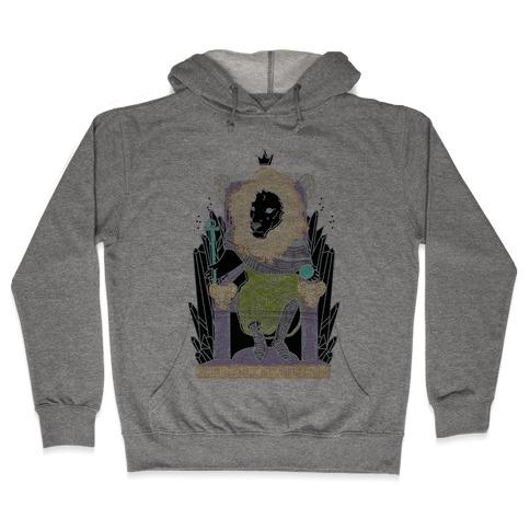 The Emperor Lion Hooded Sweatshirt