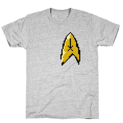 Star Trek 8-bit Mens T-Shirt