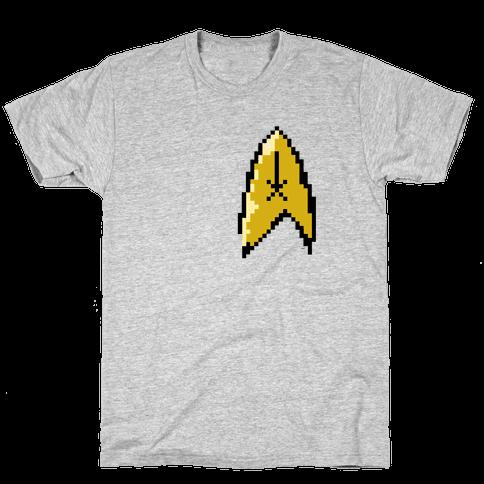 Star Trek 8-bit Mens T-Shirt