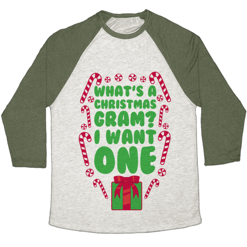 What's A Christmas Gram? Baseball Tee