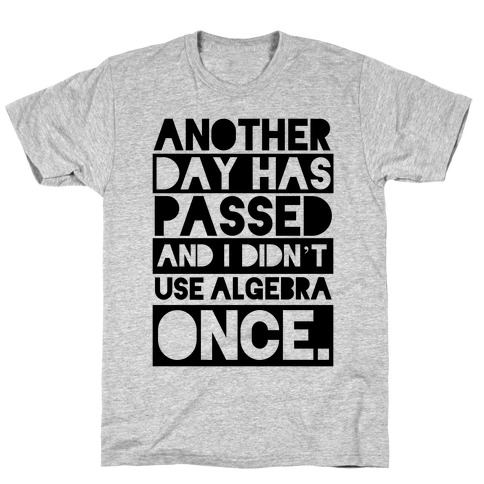Useless Algebra T-Shirt