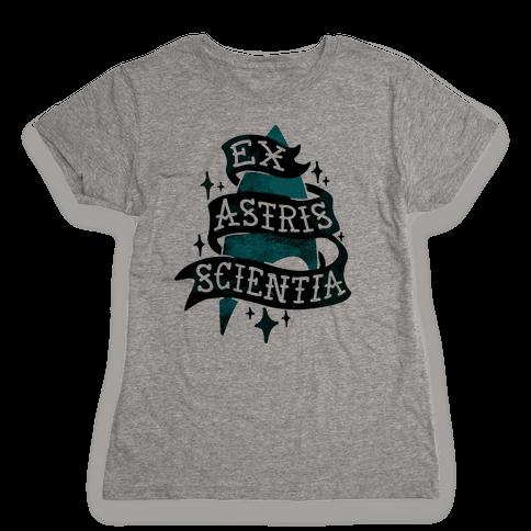 Ex Astris Scientia Womens T-Shirt