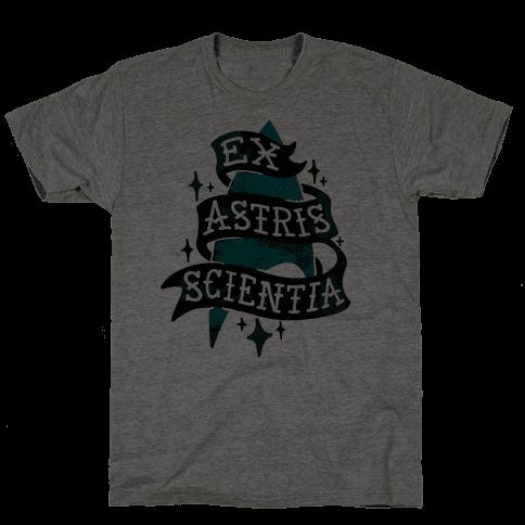 Ex Astris Scientia Mens T-Shirt