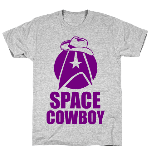 Space Cowboy Mens T-Shirt