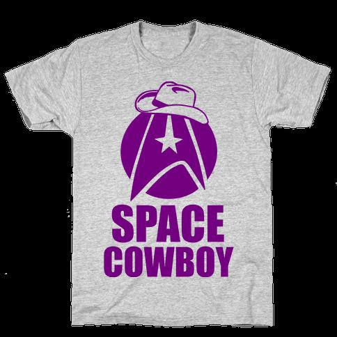 Space Cowboy Mens T-Shirt