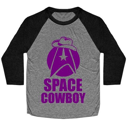 Space Cowboy Baseball Tee