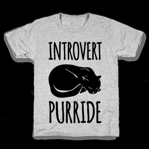 Introvert Purride Kids T-Shirt