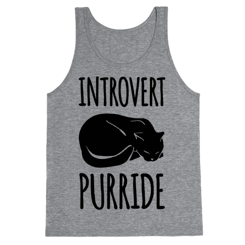Introvert Purride Tank Top