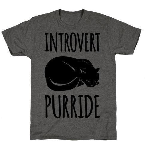 Introvert Purride Mens/Unisex T-Shirt