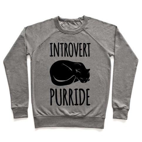 Introvert Purride Pullover
