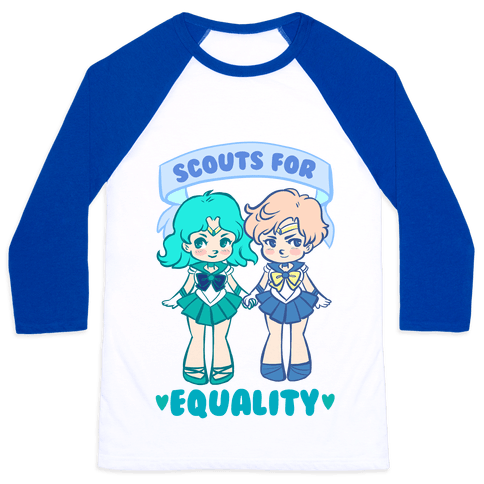 Scouts For Equality Baseball Tee