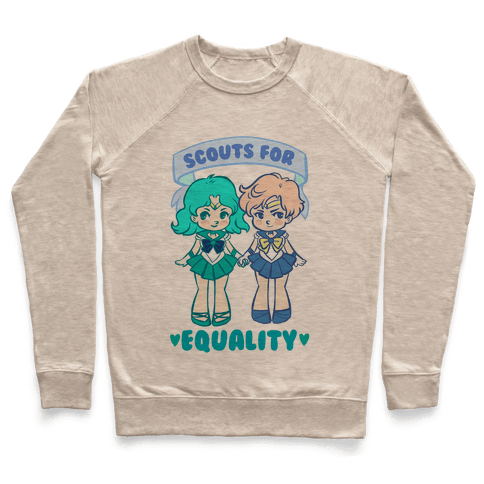 Scouts For Equality Pullover