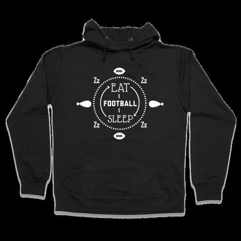 Thanksgiving cycle (dark) Hooded Sweatshirt
