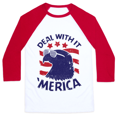 Deal With It Baseball Tee