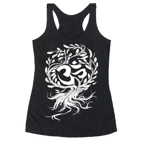Tranquilly Om Racerback Tank Top