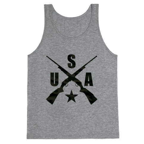 USA Rifles Tank Top