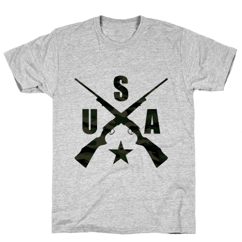USA Rifles Mens T-Shirt