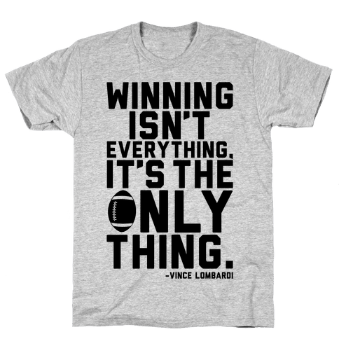 Winning Mens T-Shirt