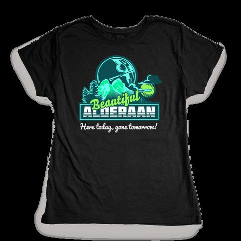 Beautiful Alderaan Vacation Womens T-Shirt
