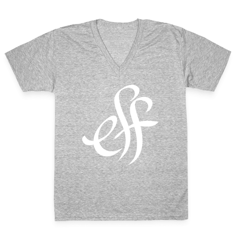 Eff V-Neck Tee Shirt