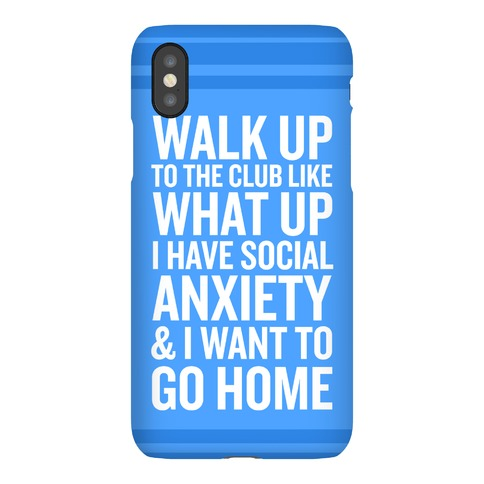 Walk Up To The Club Phone Case