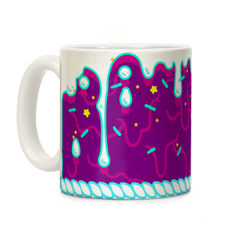 Purple Cupcake Icing Coffee Mug