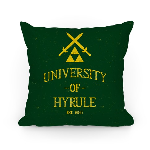 University Of Hyrule Pillow