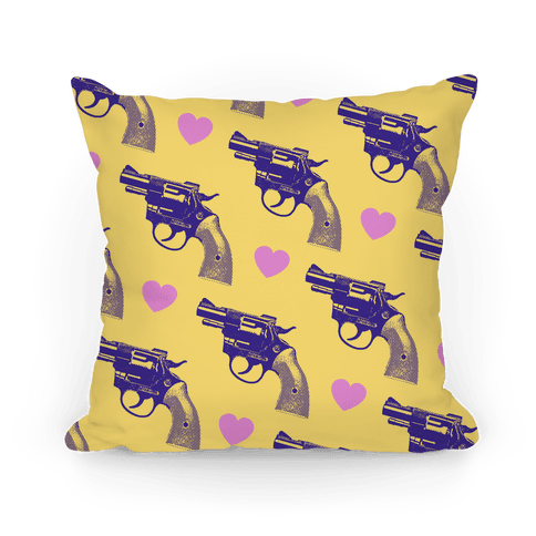Pistol Pillow Pillow