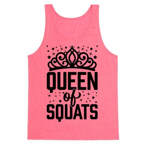 Queen Of Squats Tank Top