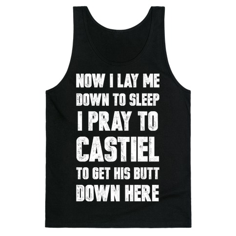 Now I Lay Me Down To Sleep Tank Top
