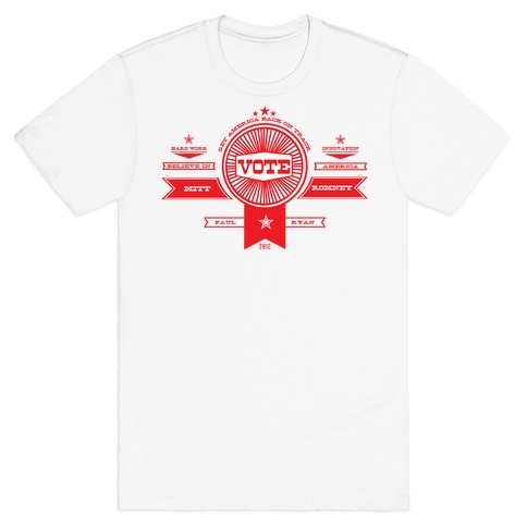 Vote Romney Mens T-Shirt