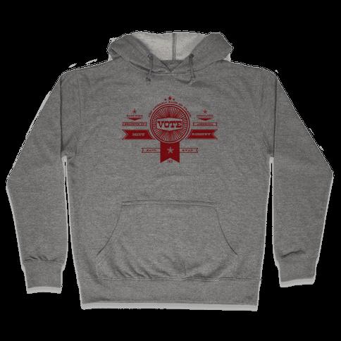 Vote Romney Hooded Sweatshirt