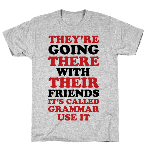 It's Called Grammar Use It Mens T-Shirt