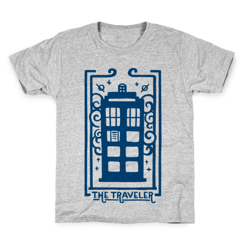 Time Traveler Tarot Kids T-Shirt