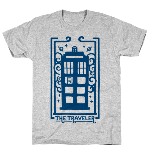 Time Traveler Tarot Mens T-Shirt