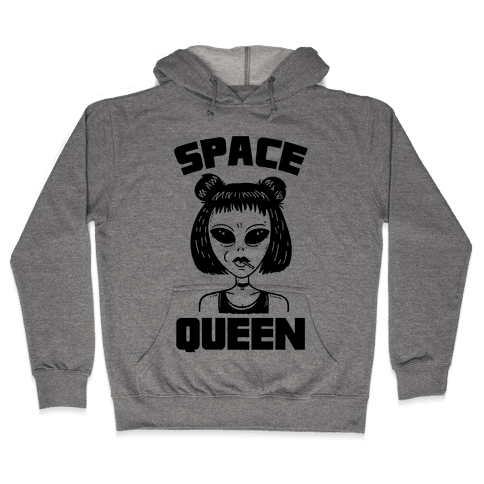 Space Queen Hooded Sweatshirt