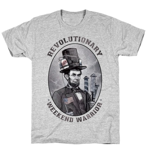 Revolutionary Weekend Warrior Mens T-Shirt