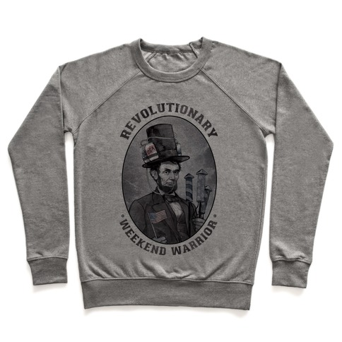 Revolutionary Weekend Warrior Pullover