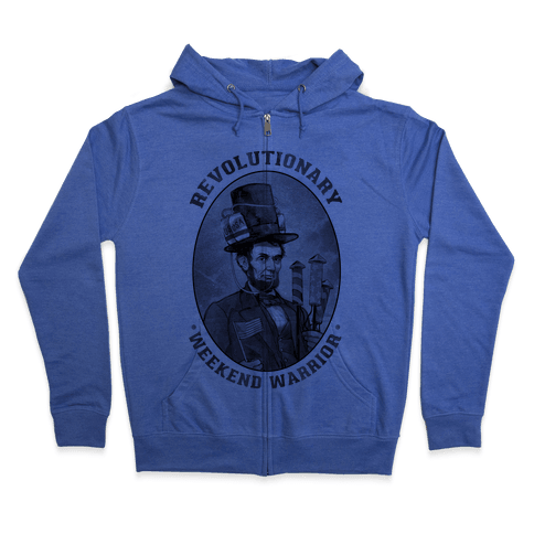 Revolutionary Weekend Warrior Zip Hoodie