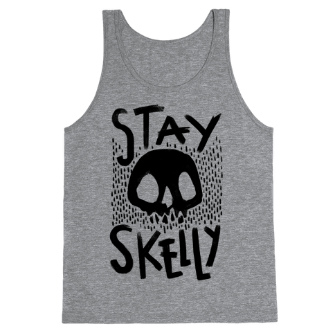 Stay Skelly Tank Top