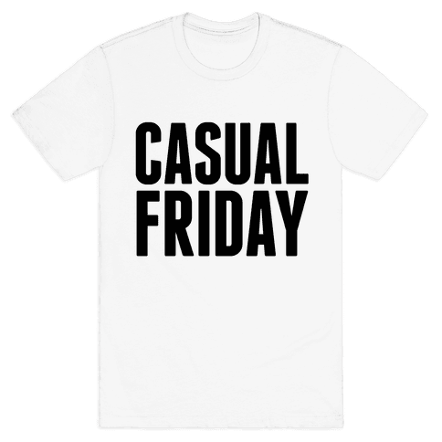 Casual Friday Mens T-Shirt