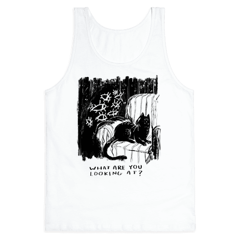 What Are You Looking At? Tank Top
